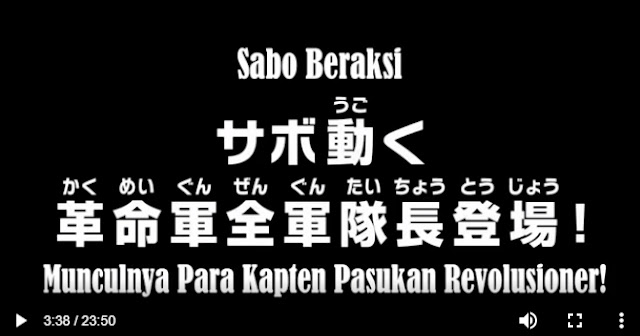 One Piece Episode 880 Subtitle Indonesia