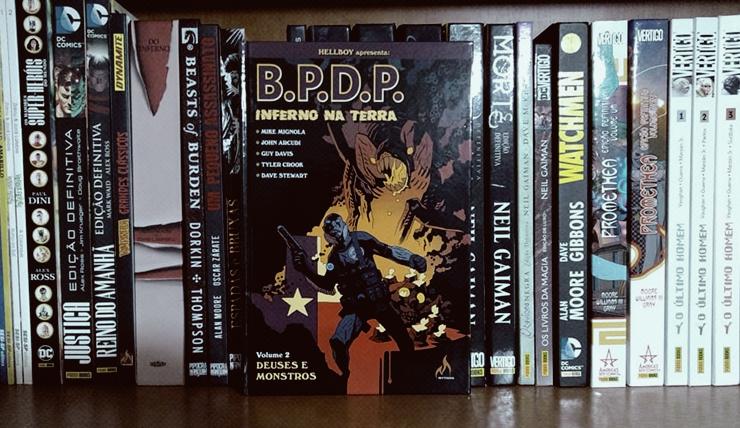 Capa B.P.D.P Inferno na Terra Vol. 2