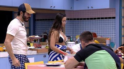 BBB21: Juliette diz para Rodolffo - 'Teu único defeito foi ter me dado um fora'