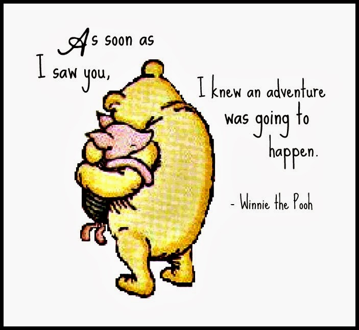 Winnie The Pooh Quote Art: WINNIE THE POOH QUOTES