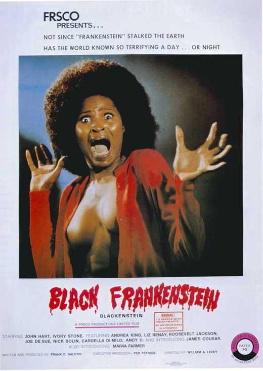 Blackenstein movie poster