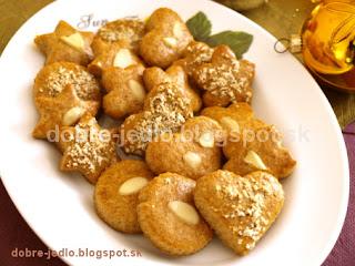 Voňavé medovníčky - recepty
