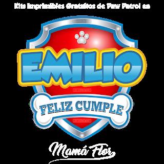 Logo de Paw Patrol: Emilio
