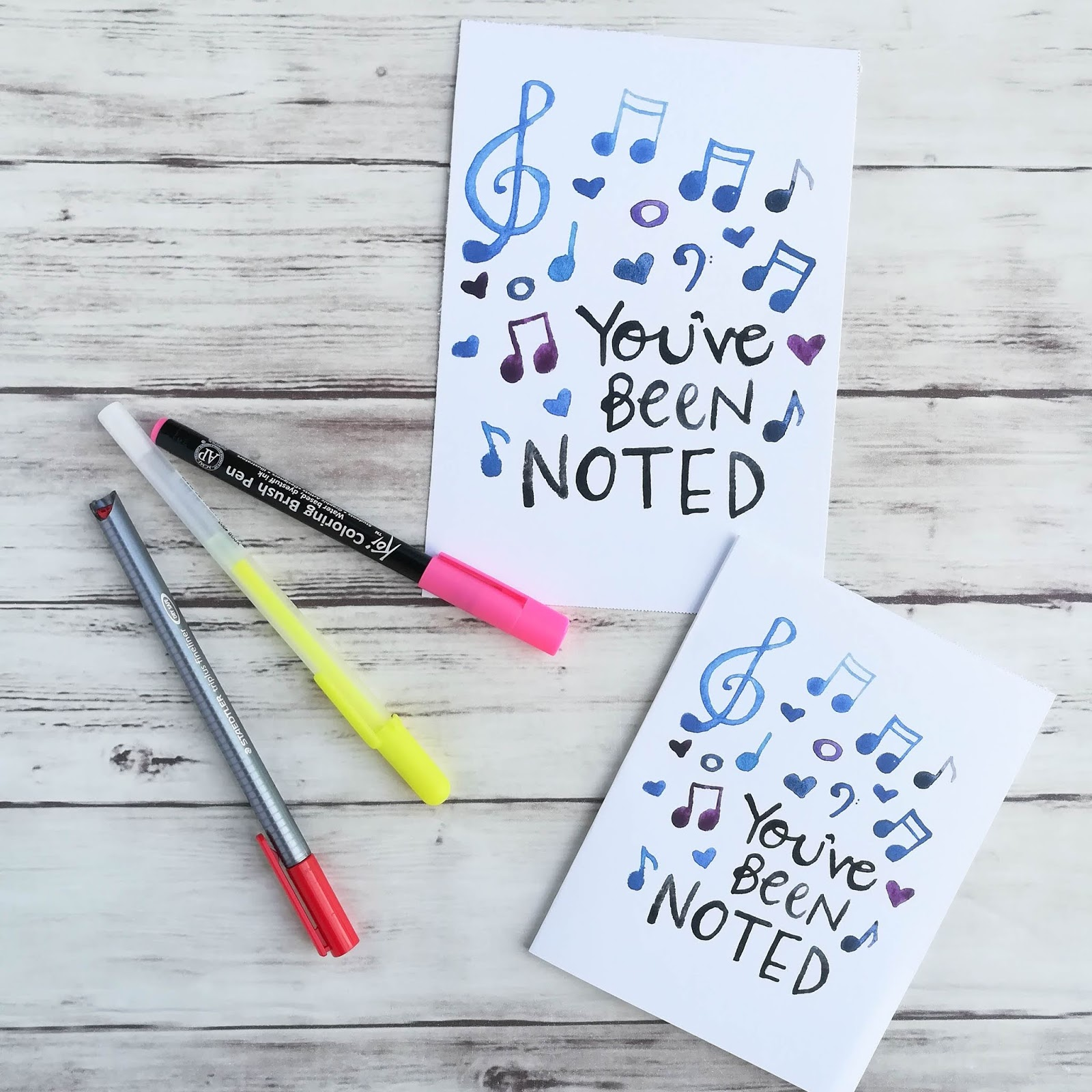 A Lively Hope: You've Been Noted-- Free Music Card