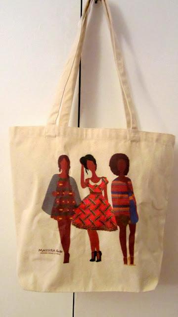 Massira Keita - Tote Bag Wax