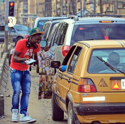 DJ Kaywise Shares His Old Photos Of How He Sold His Records On The Streets - PHOTOS