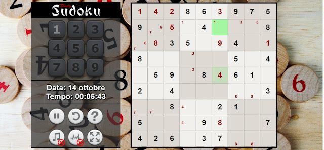 Come impiegare il tempo libero in casa: sudoku online