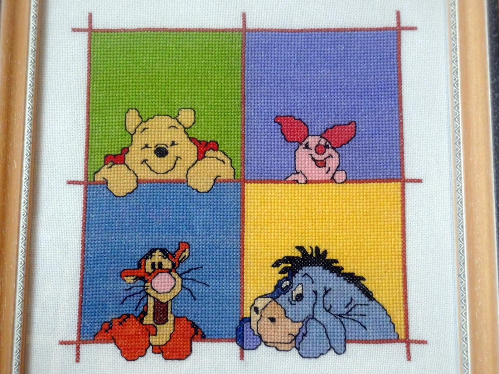 Bordados ganchillo y punto marzo 2013 - Habitacion winnie the pooh ...