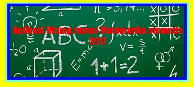 Aplikasi Hitung Rumus Matematika SD SMP SMA Lengkap Versi Terbaru