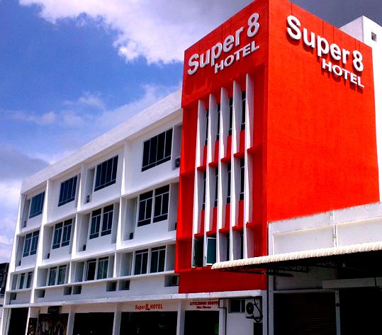 Super 8 Hotel, Georgetown Pulau Pinang