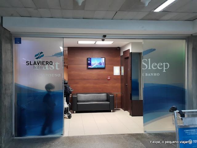 Hotel Slaviero Fast Sleep no Aeroporto de Guarulhos em São Paulo