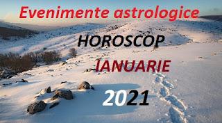 Evenimente astrologice în horoscopul ianuarie 2021