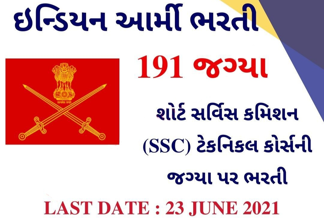 Indian Army SSC Recruitment 2021: Apply Online for SSC (Tech)-57 Men and SSCW (Tech)-28 @joinindianarmy.nic.in