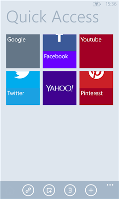 Maxthon Cloud Browser for Windows Phone 8