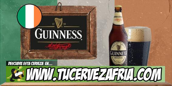 Cerveza GUINNESS Original