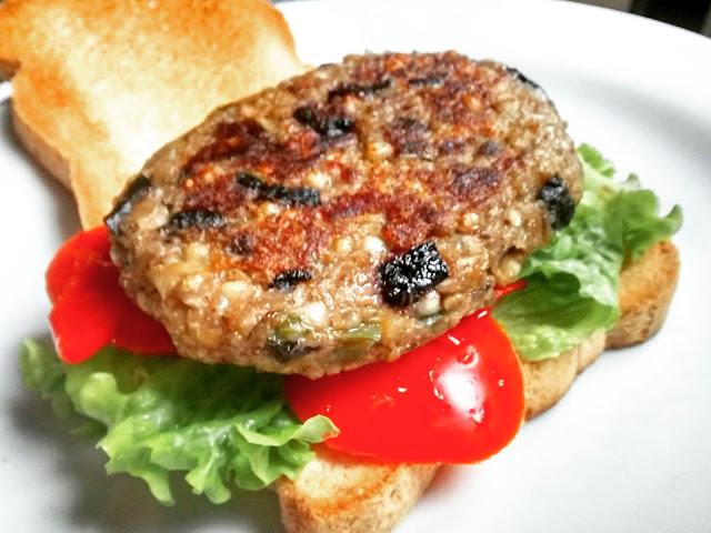 veganburger+sarraceno+aceitunas+sin+gluten
