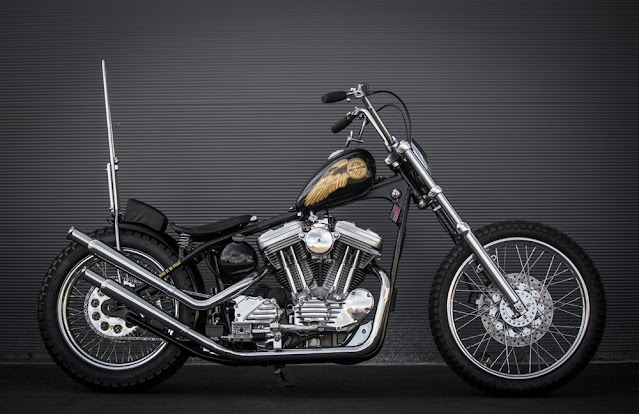 Harley Davidson Sportster By MB Cycles Hell Kustom