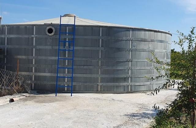 Δήμος Ναυπλιέων: Νέα δεξαμενή για την αποτελεσματικότερη υδροδότηση της Δ.Ε. Ασίνης