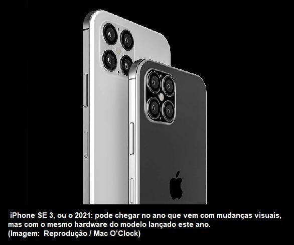 Blognetto: iPhone SE 2021 pode ter tela maior e mesmo ...