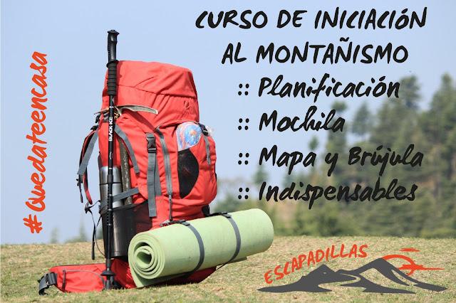 escapadillas.com formación - iniciación al Montañismo.