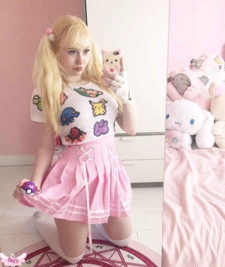 Instagram skittydoll happy monday store kawaii outfit