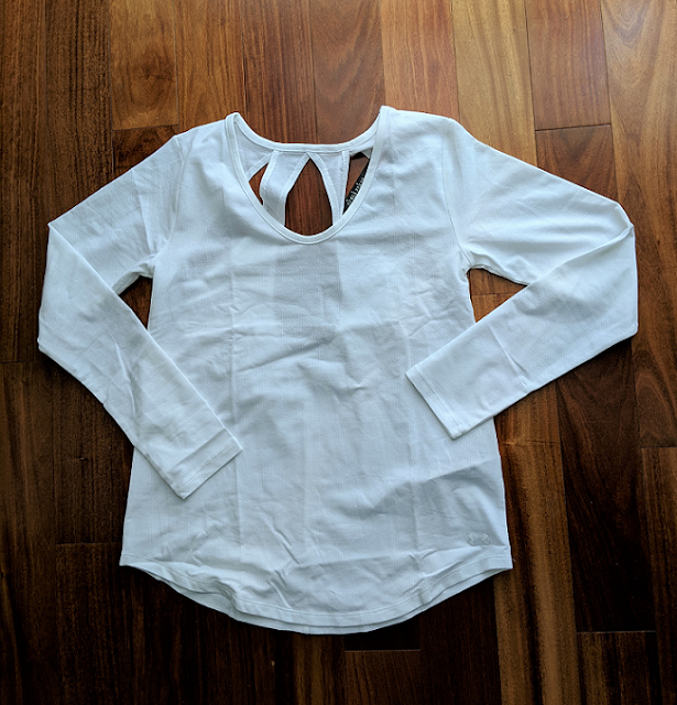 Women's UA Pindot Open Back Long Sleeve