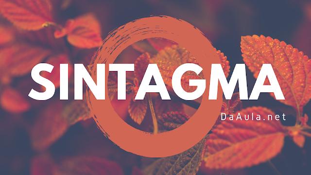 Língua Portuguesa: O que é Sintagma