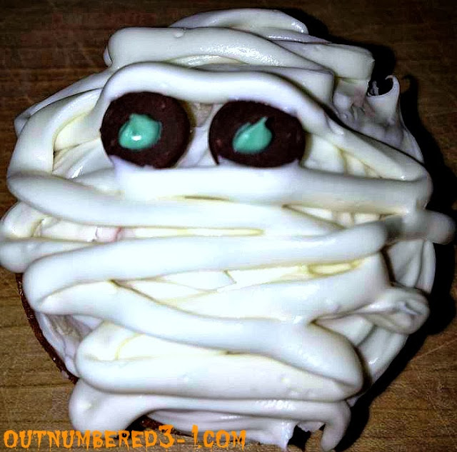 Mummy Cupcake Recipes