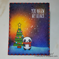 Happy Little Stampers Christmas Challenge Winner December 2018
