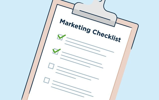 business marketing checklist social media