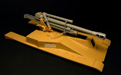 K59//1120 Production 1//35 7.5cm Pak40//4 AUF RSO Pak40 Upgrade set for Dragon kit