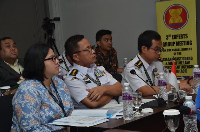 Semangat Kebersamaan Tampak Pada Pertemuan Para Pakar Coast Guard Asean