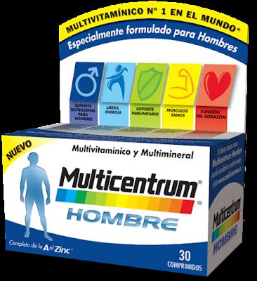 Multicentrum Hombre, analizamos este multivitamínico