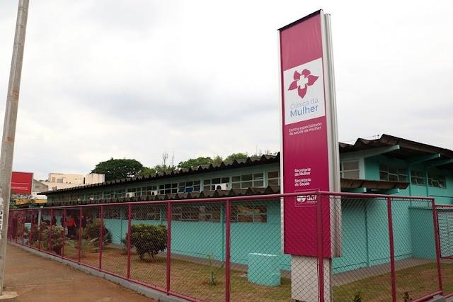 Outubro Rosa: Ibaneis entrega a Clínica da Mulher que vai atender 4 mil mulheres por mês