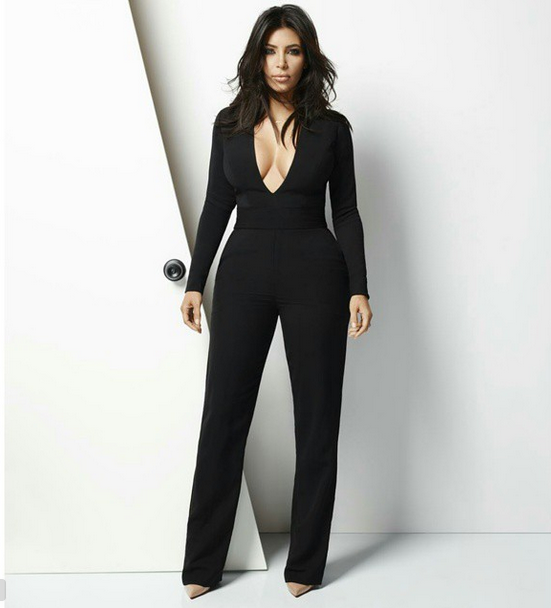 e2cd94f8e6a7 I ve already posted Kim s white promo dress and now it s time for her black  jumpsuit dupe! The whole outfit is from asos.com available to deliver in  most ...