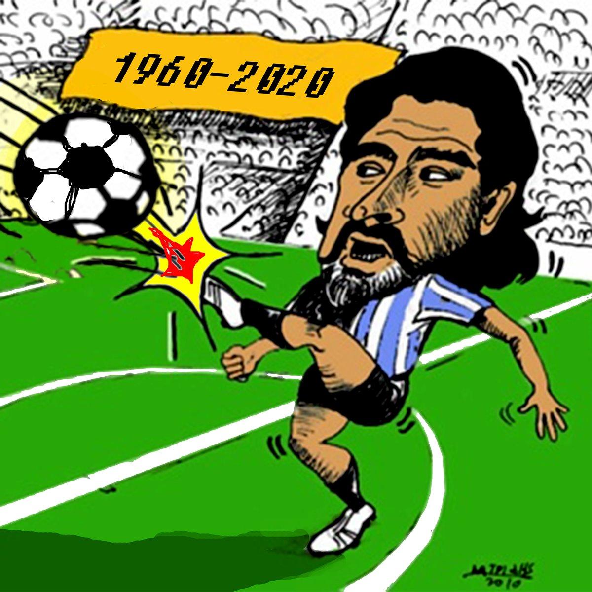 diego armando maradona thanatos argentina podosfairistis eghrwmi karikatoura myxalandri