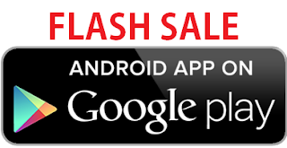 Flash Sale Android App on Google Play Store