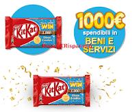 """Concorso """"Kitkat HAVE A BREAK & WIN"""" : vinci 40 Buoni Acquisto per beni e servizi da 1000 euro"""