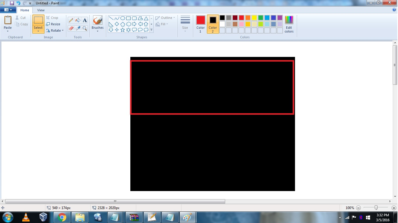 How To Crop A Picture In Paint Without White Background