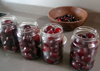 Compota de cerezas