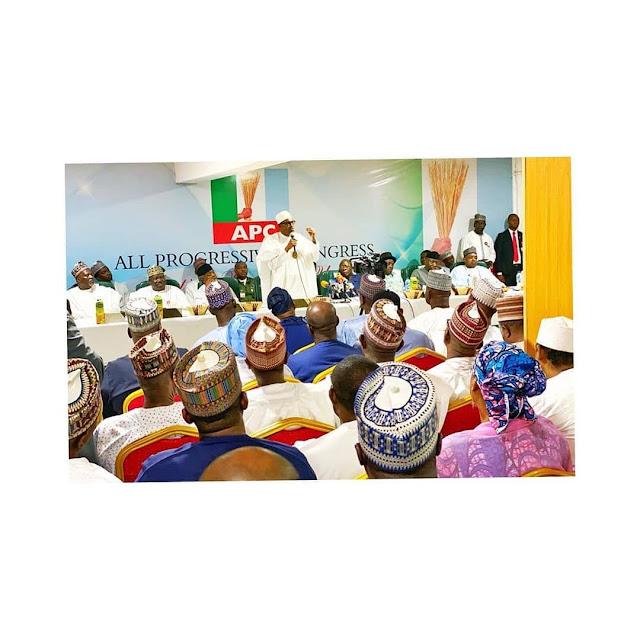 I Am not going For third term - Buhari assures Nigerians .