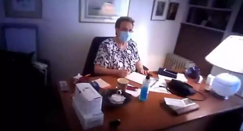 Έφοδος της εγκληματικής οργάνωσης  Ρουβίκωνα στο ιατρείο της Ελένης Γιαμαρέλλου (βίντεο)