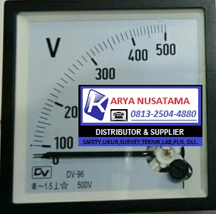 Jual Voltmeter Analog Jarum 300V 72x72 di Jambi