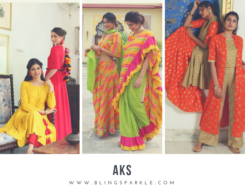 79f73f364a2 Aks is another Indian brand that reflects its modern approach towards ethnic  fashion. It is visible in every kurta and anarkali suit they have to offer.