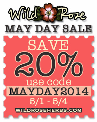 Wild Rose May Day Sale