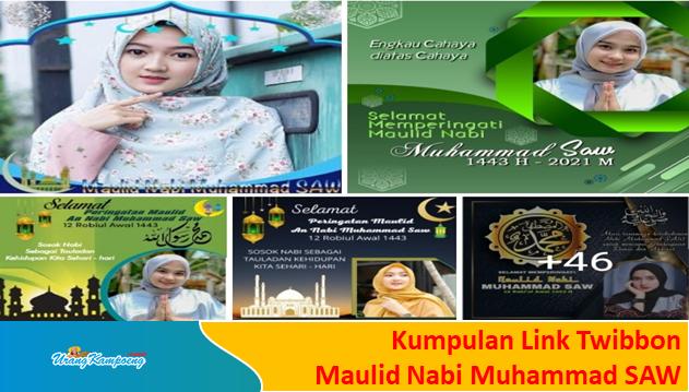 Link Twibbon Maulid Nabi Muhammad SAW, 19 Oktober 2021