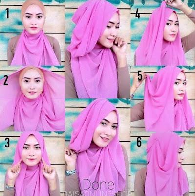 5 Tutorial Hijab Wisuda Untuk Pipi Tembem Simple dan Cantik