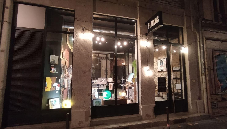 restaurant café galerie fluxus lyon