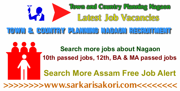Town and Country Planning Nagaon Recruitment