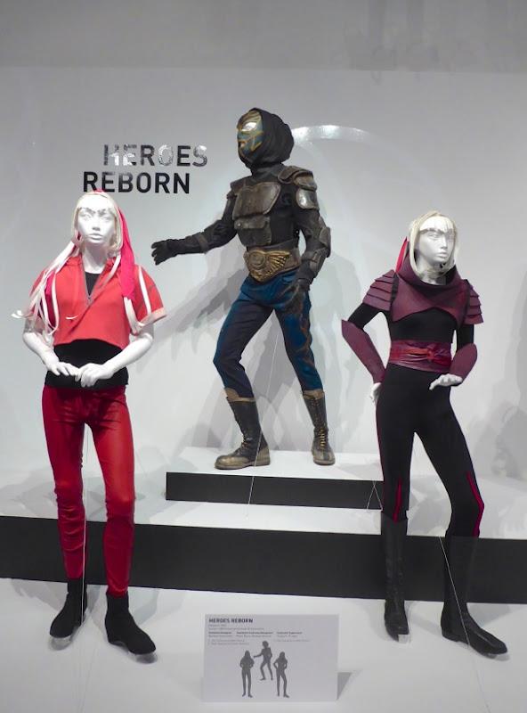 Heroes Reborn TV costumes